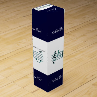 Beethoven Symphony No. 5 (Blue) Wine Gift Box