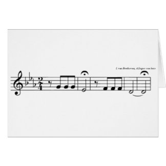 Beethoven Symphony No. 5 Cards