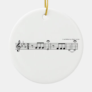 Beethoven Symphony No. 5 Ceramic Ornament