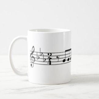 Beethoven Symphony No. 5 Coffee Mug