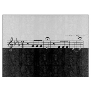 Beethoven Symphony No. 5 Cutting Board