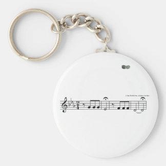 Beethoven Symphony No. 5 Keychain