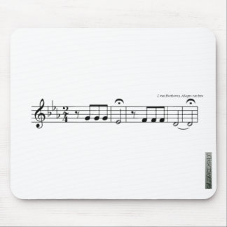 Beethoven Symphony No. 5 Mousemat Mouse Pad