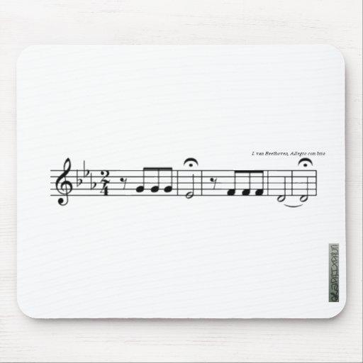 Beethoven Symphony No. 5 Mousemat Mousepads