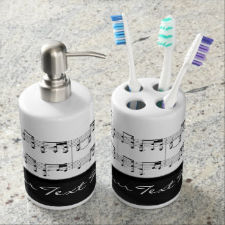 Beethoven Symphony No. 9 Bathroom Set