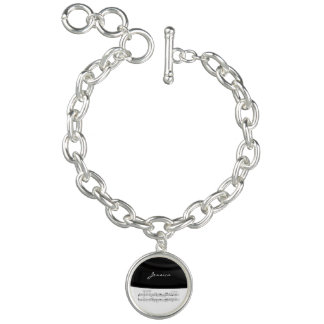 Beethoven Symphony No. 9 (Black) Bracelet