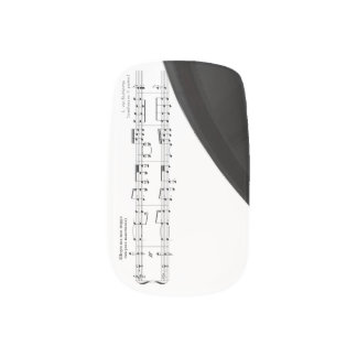 Beethoven Symphony No.9 (Black) Minx® Nail Wraps