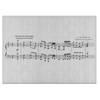 Beethoven Symphony No. 9 Cutting Board