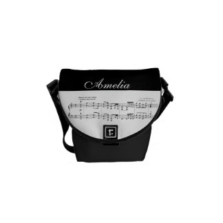 Beethoven Symphony No. 9 Messenger Bag