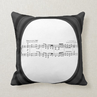 Beethoven Symphony No. 9 Throw Pillow