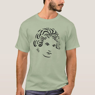 Beethoven T-Shirt  (Stone Green)