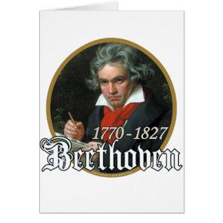 Beethoven Tarjeta De Felicitación