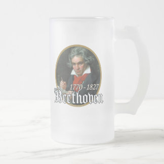 Beethoven Taza De Cristal