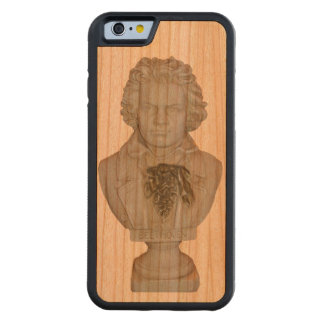 Beethoven Wood Phone Case Design by Leslie Harlow