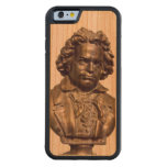 Beethoven Wood Phone Case Design by Leslie Harlow Carved® Cherry iPhone 6 Bumper