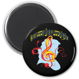 Beethoven's Fifth Fridge Magnet