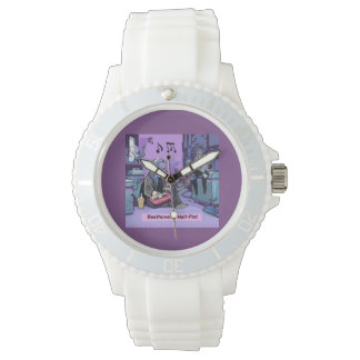 Beethoven's Half Pint Comic Unisex Watch
