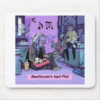 Beethoven's Half Pint Funny Gift Mouse Pad