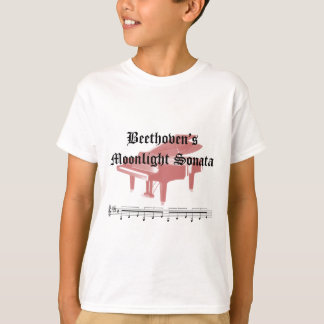 beethovens moonlight sonata  gifts T-Shirt
