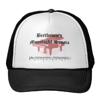 beethovens moonlight sonata  gifts trucker hat