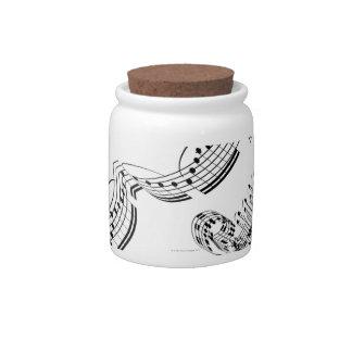 Beethovens Violin Concerto Candy Jar