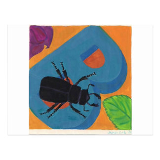 Beetle B design Postcard