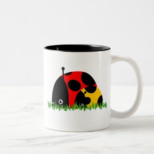 Beetle Baby Two-Tone Coffee Mug