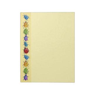 Beetle Boarder Note Pad