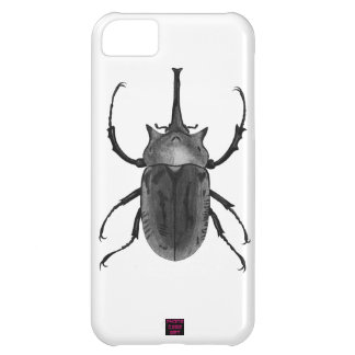 Beetle Bug Black and White Drawing iPhone 5C Cover