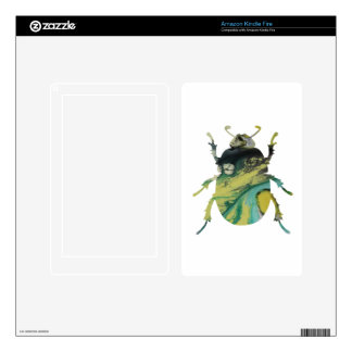Beetle Decal For Kindle Fire