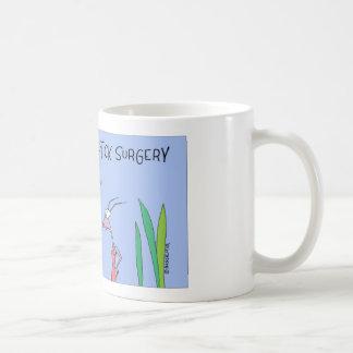 Beetle gets cosmetit surgery coffee mug