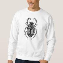 Beetle: HQ hand-made, digitally edited artwork Sweatshirt