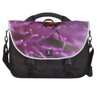 Beetle on a Milk Thistle Laptop Bags