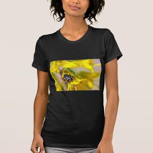 Beetle On Yellow Tees