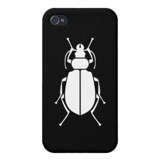 Beetle Print Cases For iPhone 4