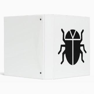 Beetle Silhouette Vinyl Binders