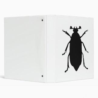 Beetle Silhouette Binders