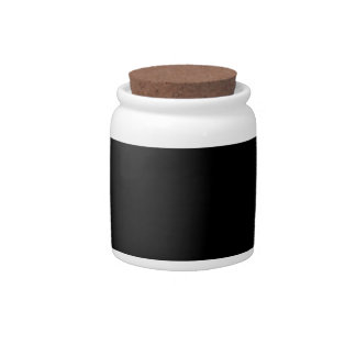 Beetle Silhouette Candy Jar