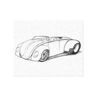 Beetle Speedster Canvas Print