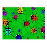 Beetle Swarm Postcard