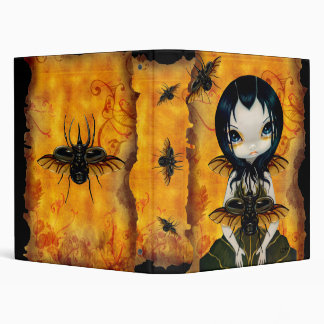Beetle Wings horned beetle gothic fairy Binder