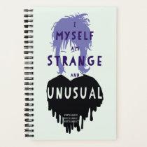 "Beetlejuice | Lydia ""Strange and Unusual"" Graphic Notebook"