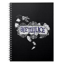 Beetlejuice | Sandworm Coiled on Beetlejuice Logo Notebook