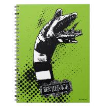 Beetlejuice | Sandworm Illustration Notebook