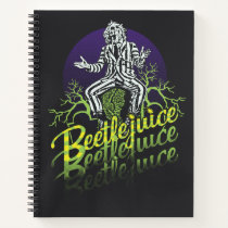 Beetlejuice | Sitting on a Tombstone Notebook