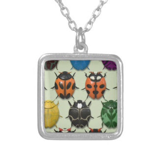 BeetleMania - Silver Plated Necklace