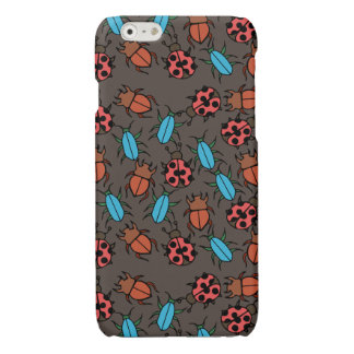 Beetles and Ladybug pattern bug lover Glossy iPhone 6 Case