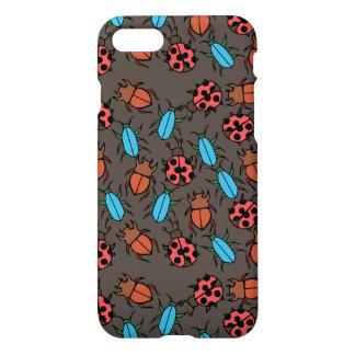 Beetles and Ladybug pattern bug lover iPhone 8/7 Case
