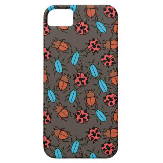 Beetles and Ladybug pattern bug lover iPhone SE/5/5s Case