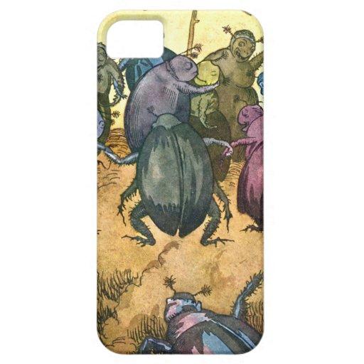 Beetles Celebrating Midsummer iPhone 5 Cover